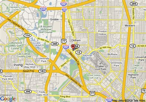 map of northwest texas map of best western northwest inn dallas