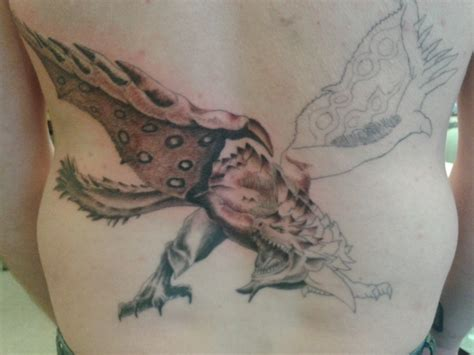 monster hunter tattoo top tri images for tattoos