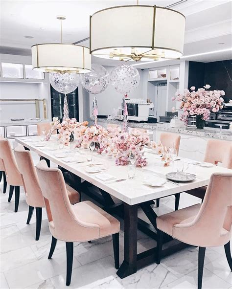 Sophisticated Pink Paint Colors Best 25 Pink Dining Rooms Ideas On Pinterest Pink