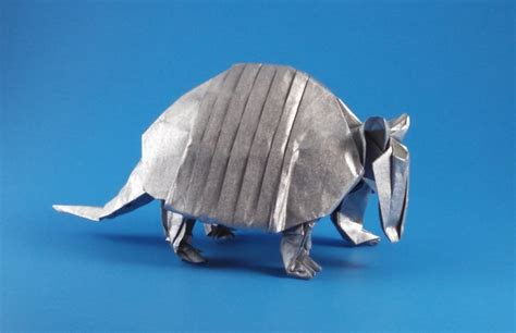 Origami Armadillo - origami armadillos gilad s origami page