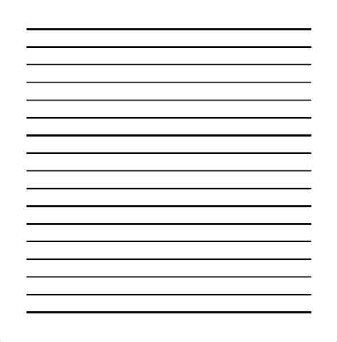 free index card template with lines 11 line paper templates free sle exle format