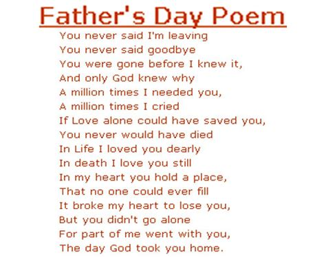 day poems the best fathers day poems from birthday