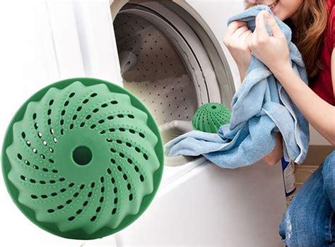 Bola Karet Mesin Cuci Pencuci Baju Pakaian Laundry Cl Berkualitas eco laundry bola cuci pengering green