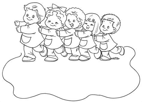 imagenes de niños jugando en grupo para colorear dibujos para ni 241 os de colorear muy bonitos