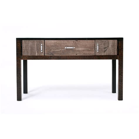sofa table with doors urban graphite 2 door 1 drawer sofa table green gables