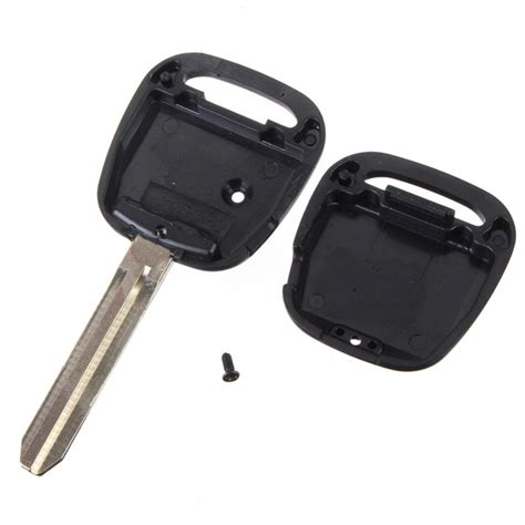 toyota key replacement remote key replacement 1 side button key fob blade