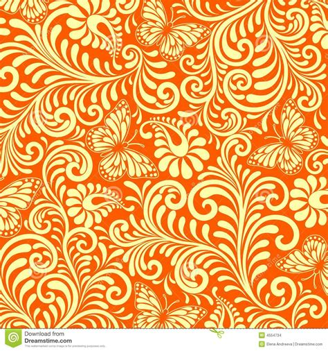 modern batik pattern vector floral background stock images image 4554734