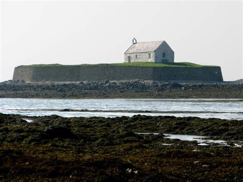 Modern Fruit St Cwyfan S Church The Church In The Sea Near Aberffraw
