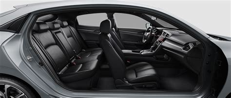 the 2017 honda civic hatchback is reliable and cargo friendly