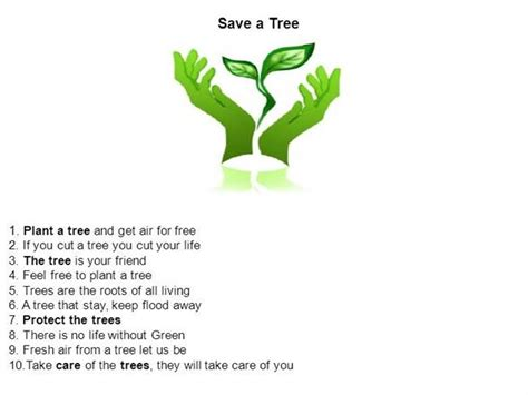 Plant Trees Save Earth Essay by Save Tree Presentation Authorstream