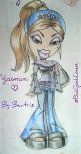 bratz yasmin drawing beatrizlovemyjesus deviantart