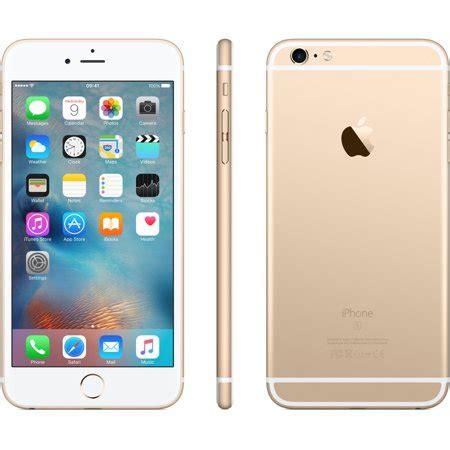 refurbished iphone 6s plus 64gb gold unlocked walmart