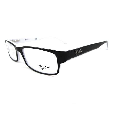 ban glasses frames 5114 2097 black white edge ebay