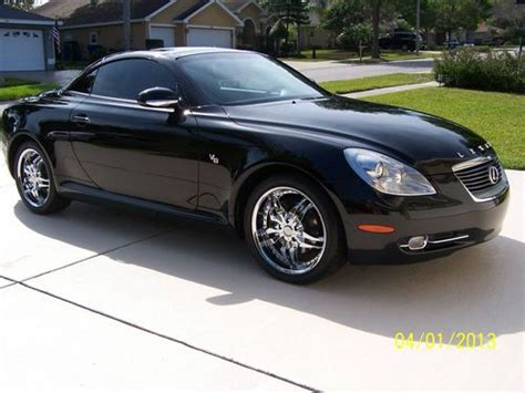 lexus sc430 rims find used 2006 lexus sc430 convertible chrome rims iced
