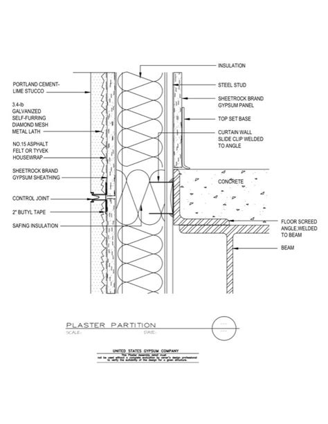 cast in place concrete wall section concrete wall section detail quotes
