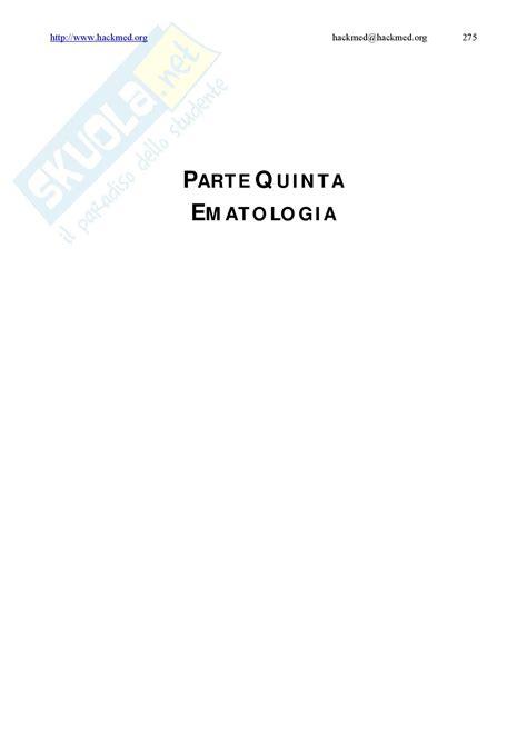 medicina interna appunti medicina interna compendio