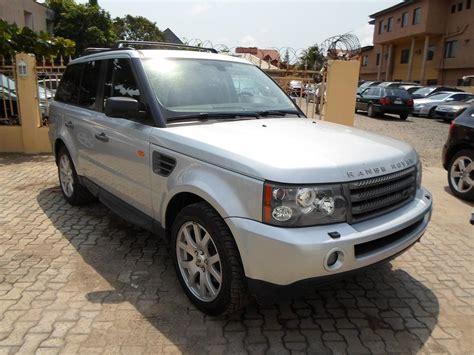 range rover price 2008 tokunbo 2008 land rover range rover sport hse price n7