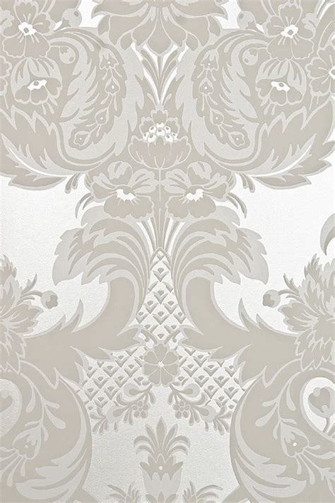 damask wallpaper pinterest wyndham damask wallpaper striking large print silver