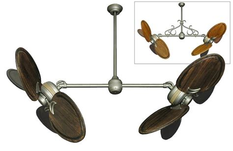 ceiling fan with double oscillating twinstar ii double ceiling fan w 50 quot 950 series arbor