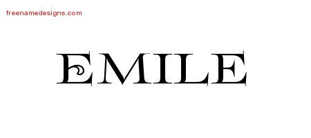 tattoo ideas for the name emile emile archives free name designs
