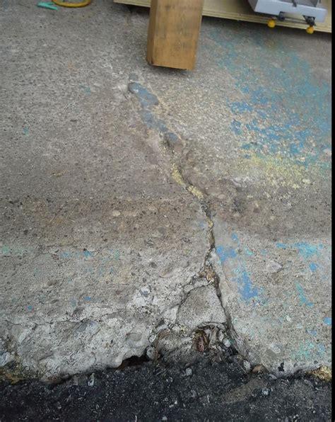 Seal Garage Floor Cracks floor how do i seal the cracks between my asphalt
