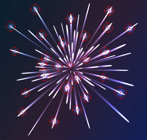 vector fireworks tutorial illustrator effects how to create colorful vector