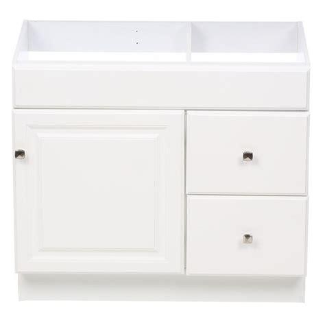 design house vanity cabinets design house wyndham 36 in w x 21 in d unassembled