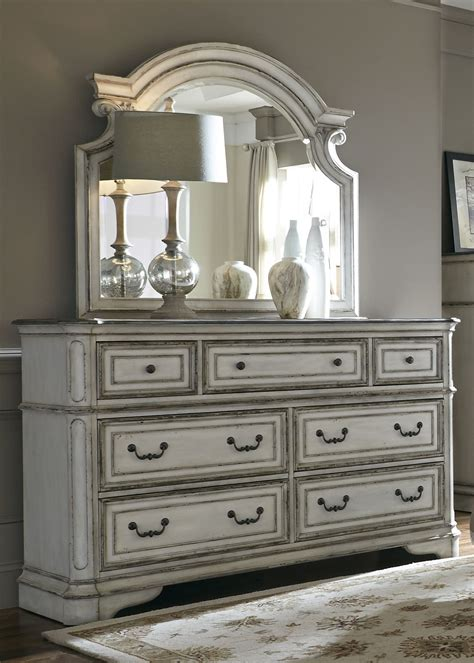 antique white dresser bedroom furniture magnolia manor antique white upholstered panel bedroom set from liberty coleman furniture