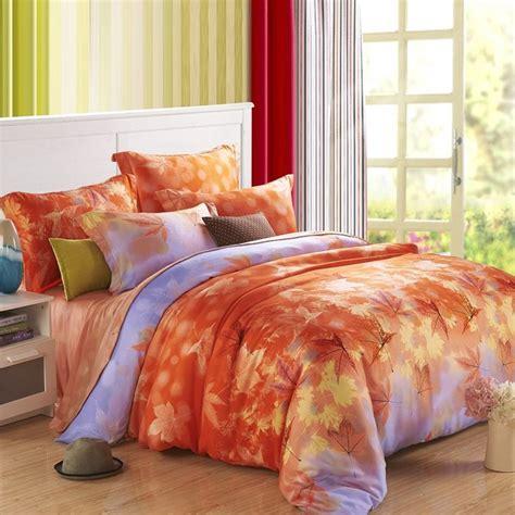 purple and orange bedroom decor charming autumn bedroom design with orange yellow and