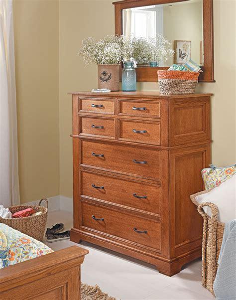 bedroom set oak dresser