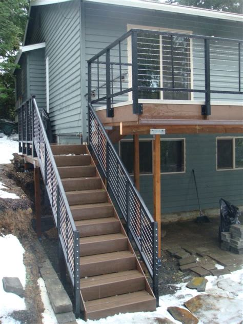 Stainless Steel Deck Railing Stainless Steel Cable Rail Deck Deck Masters Llc