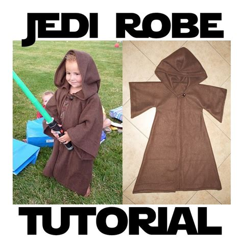 diy jedi robe jedi robe costume pattern tutorial