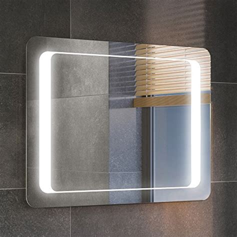 vicky led mirror 500mm x 900mm with demister mirrors bathroom mirrors search furniture