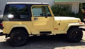 1989 jeep wrangler special edition islander for sale