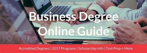 Cheapest Mba Programs In Nj by 56 Best Business Degrees 2018 Accredited And