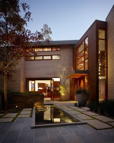 luxurious modern mansion design  california mandeville