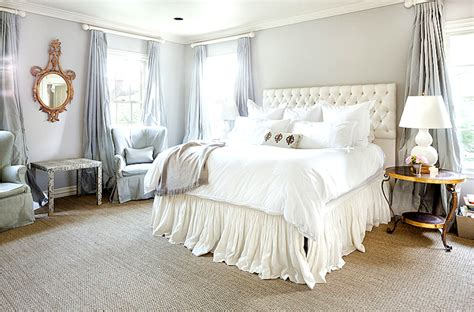 room bed skirts ruffled bed skirt transitional bedroom cote de