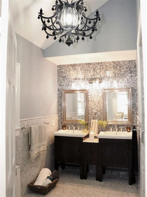 Black Bathroom Chandelier Black Bathroom Chandelier Best Home Design 2018
