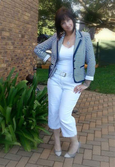 Cd Mr Barth My Blues Suits Obi february 7 navy and white striped blazer truworths white denim capris woolworths my