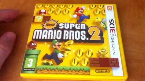 5 new year unboxing unboxing new mario bros 2 3ds en espa 241 ol