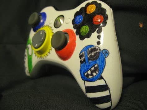 acrylic paint xbox controller color up your xbox 360 controller 6 steps