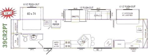 park model trailer floor plans hyline park model trailer model 39cr2pt