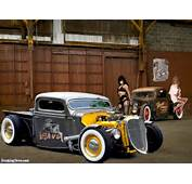 Girls And Hot Rods  Pictures