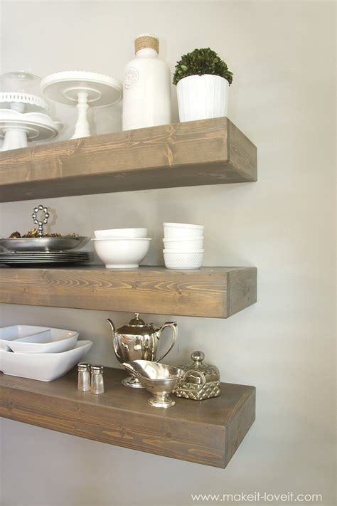 floating shelves homeintheheights how to build simple floating shelves for any room in