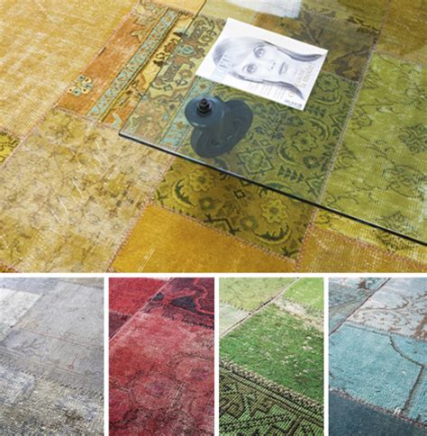 Diy Patchwork Rug - retro redye patchwork color carpets from vintage rugs