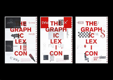 design poster series the graphic lexicon poster series studio sutherl 2016