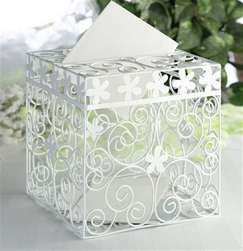 Gift Card Box For Wedding Reception - classic wedding reception gift card box
