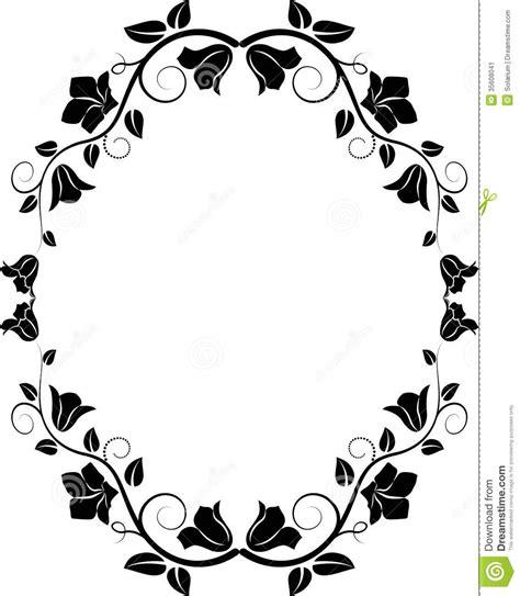 Halloween Wreath bloemenkader stock afbeelding beeld 35608041