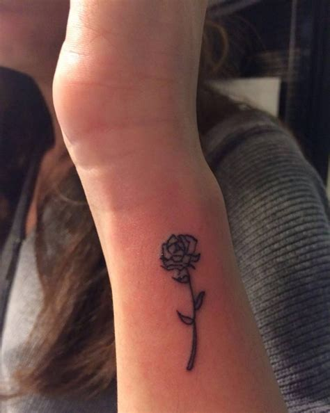 small rose tattoos on wrist rose tattoo on selen s right