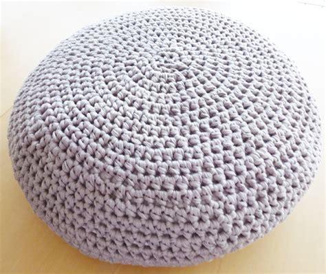 Crochet Pouf Ottoman Pattern crochet pouf ottoman floor cushion pdf pattern instant